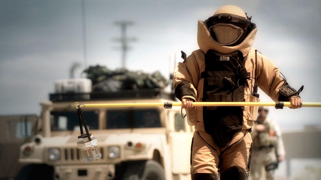 Navy EOD tech