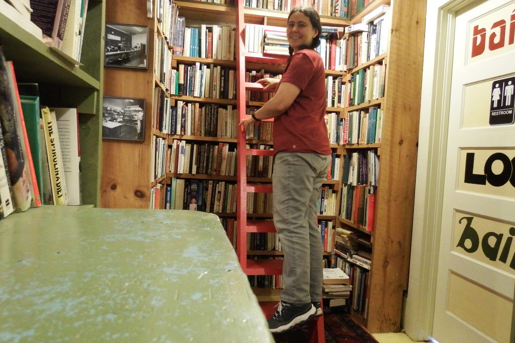 Bookstore ladder