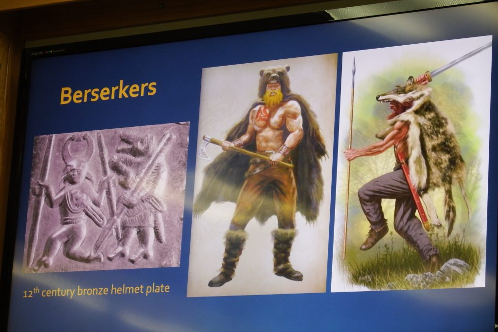 Berserkers as shapeshifters