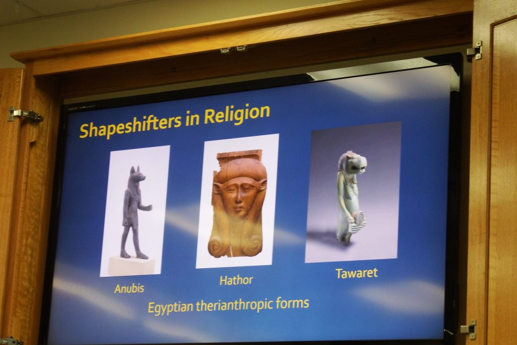 Egyptian therianthropy