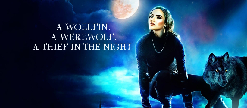 A woelfin. A werewolf. A thief in the night.